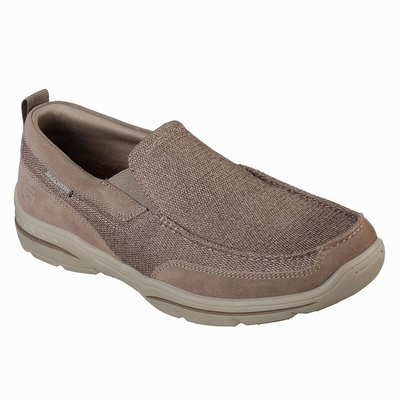 Barato Sapatilhas Casual Skechers Relaxed Fit: Outland 2.0 Homem Verde Oliva | 892-51216