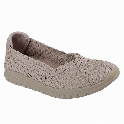 Loja Sapatilhas Casual Skechers BOBS Utopia - Bow Wow Mulher Verdes | 794-76646
