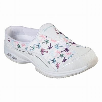 Outlet Sapatilhas Casual Skechers Bryson Mulher Branco | 396-83306