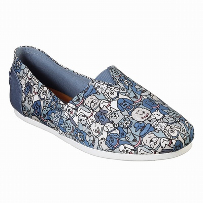 Outlet Sapatos de Bobs Skechers On the GO 600 Mulher Azuis / Multicoloridas | 197-22027
