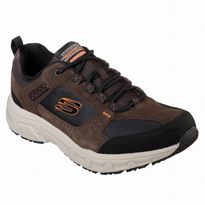 Outlet Tenis Skechers On the GO Glide Ultra - Sail Homem Chocolate / Pretas | 988-55749