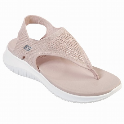 Sandálias Skechers Lil BOBS Solestice 2.0 - Paw-Some Mulher Rosa | 915-85554