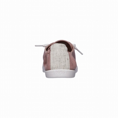 Sapatilhas Casual Skechers BOBS Plush - Twiggy Mulher Rosa | 340-39625