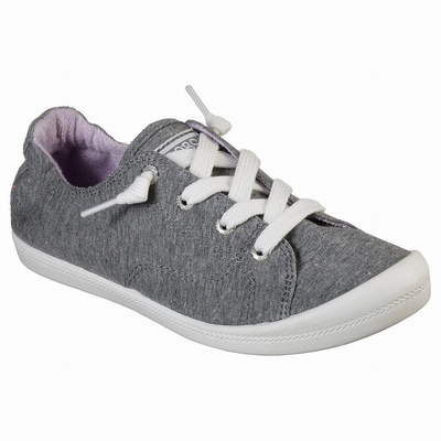 Sapatilhas Casual Skechers BOBS Plush - Woof Party Mulher Cinzentas / Multicoloridas | 400-98451