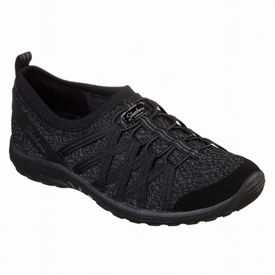 Sapatilhas Casual Skechers Bounder - Wolfston Mulher Pretas | 384-21350
