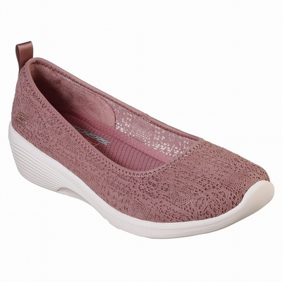 Sapatilhas Casual Skechers D'Lites 2.0 - Cool Cosmos Mulher Vermelhas | 525-75717