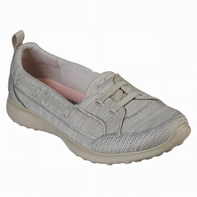 Sapatilhas Casual Skechers D'Lites 3 - Zenway Mulher Bege | 180-35607