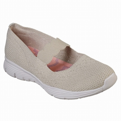 Sapatilhas Casual Skechers D'Lites 3.0 - Goblin Mulher Bege | 888-21880