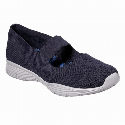 Sapatilhas Casual Skechers D'Lites 3.0 - Proven Force Mulher Azul Marinho | 746-62535