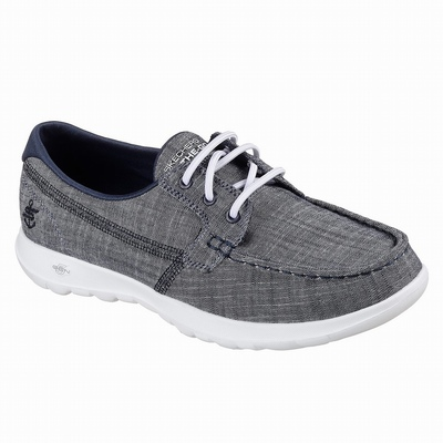 Sapatilhas Casual Skechers Depth Charge - Ostacre Mulher Azul Marinho | 746-45919