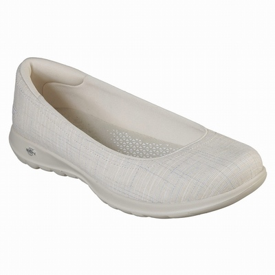 Sapatilhas Casual Skechers Dyna-Air Mulher Bege | 244-96228