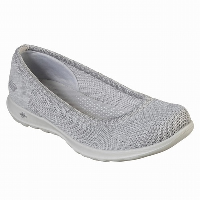 Sapatilhas Casual Skechers Dyna-Lite Mulher Cinzentas | 417-32465