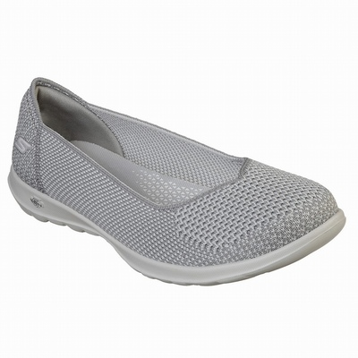 Sapatilhas Casual Skechers Dyna-Lite Mulher Cinzentas | 547-53848