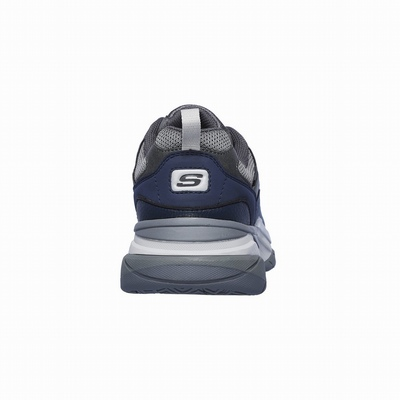 Sapatilhas Casual Skechers Relaxed Fit: Norsen - Avelo Homem Cinzentas / Azuis | 998-46410