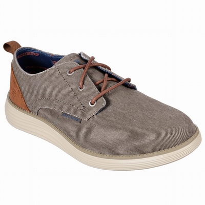 Sapatilhas Casual Skechers Relaxed Fit: Relment - Semego Homem Marrom | 585-11375