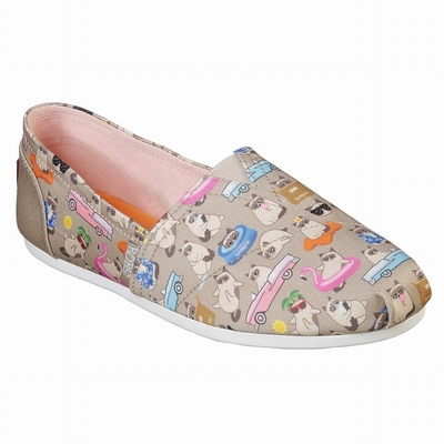 Sapatos de Bobs Skechers On the GO 600 - Breezy Days Mulher Bege / Multicoloridas | 606-28989