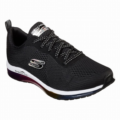 Tenis Skechers After Burn M. Fit Mulher Pretas / Multicoloridas | 603-83671