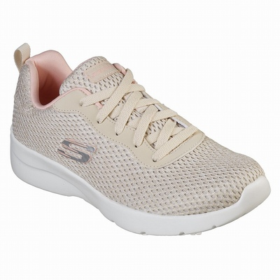 Tenis Skechers Be-Lux - Easily Done Mulher Bege / Coral | 338-79202