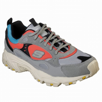 Tenis Skechers Relaxed Fit: Commute Time - Rideshare Homem Cinzentas / Multicoloridas | 273-54370