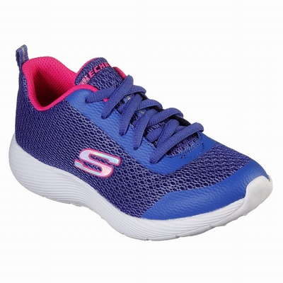 Tenis Skechers Work Relaxed Fit: Cottonwood - Fribble SR Menina Azuis / Rosa | 227-79452