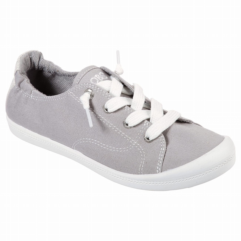 Sapatilhas Casual Skechers BOBS Plush - Twiggy Mulher Cinzentas | 280-22674