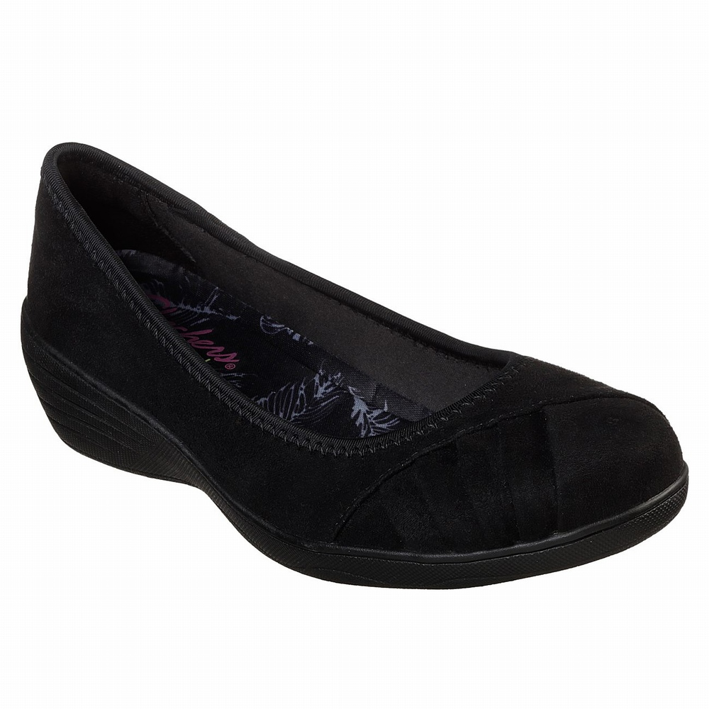 Sapatilhas Casual Skechers Bounder - Stokley Mulher Pretas | 294-40322