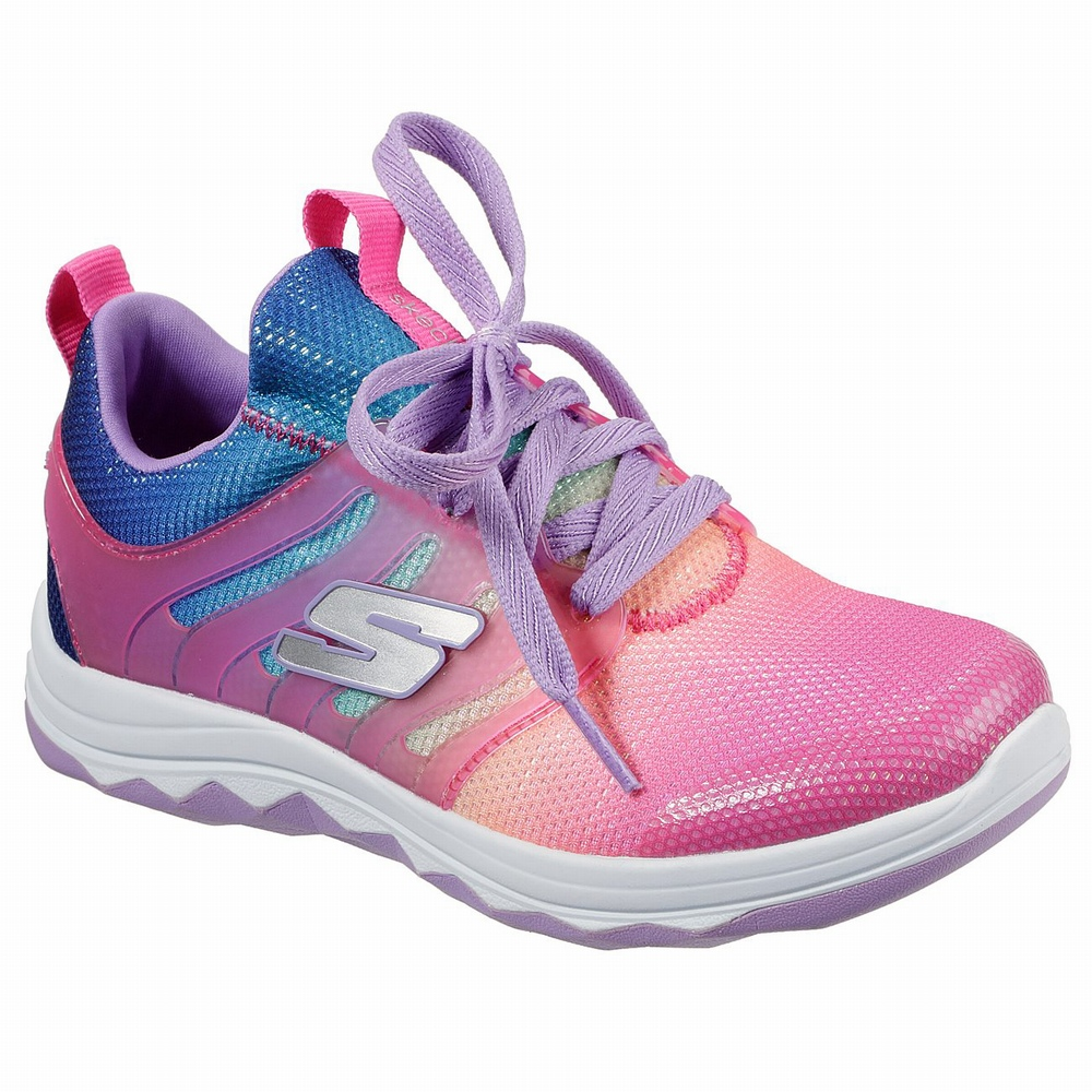 Tenis Skechers Work Relaxed Fit: Cessnock - Colleton SR Menina Rosa / Multicoloridas | 527-70004